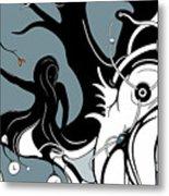 Aqualimb Metal Print