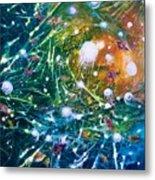 Aquarium Galaxy Metal Print