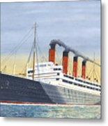 Aquitania-calm Sea And Prosperous Voyage Metal Print
