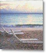 Aruba Beach Sunset Metal Print