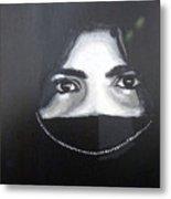 Arab Girl Metal Print