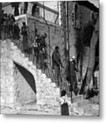 Arab Youths In Bethlehem 1938 Metal Print