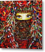Arabian Eyes Metal Print