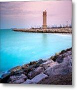 Arabic Harbour Metal Print