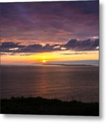 Aran Islands At Sunset Metal Print