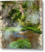 Aravaipa Creek Metal Print