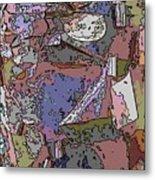 Arbor Abstract Metal Print