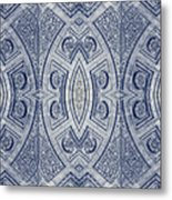 Arc De Triomphe Du Carrosel Paris Kaleidoscope Vertical Metal Print