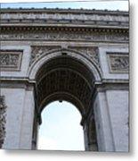 Arc De Triumph In Paris Metal Print
