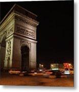 Arc Du Triomphe Paris Metal Print