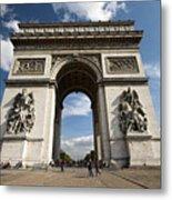 Arc The Triomphe Paris Metal Print