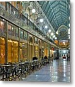 Arcade In Cleveland Metal Print
