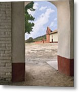 Arch At La Purisima Metal Print