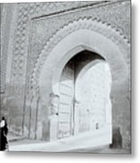 Arch In The Casbah Metal Print