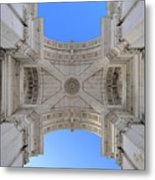 Arch-itecture Metal Print
