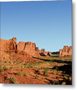 Arch National Park Metal Print