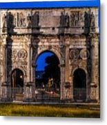 Arch Of Constantine Metal Print