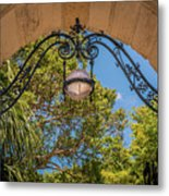 Arch Of The Past Metal Print