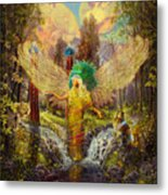 Archangel Haniel Metal Print by Steve Roberts