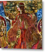 Archangel Michael Metal Print