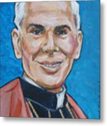 Archbishop Fulton J. Sheen Metal Print
