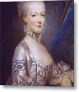 Archduchess Maria Antonia Of Austria 1769 Metal Print