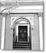 Arched Doorway Metal Print