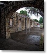 Arched View Metal Print