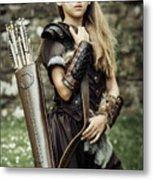Archer Warrior Metal Print