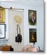Archery And Art And Camera And Historypart Of My Studio Metal Print
