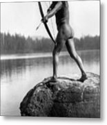 Archery: Nootka Indian Metal Print