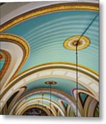 Arches And Curves - Capitol Building - Missouri Metal Print