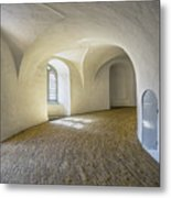 Arches And Curves Metal Print