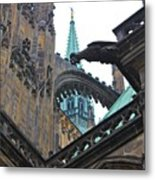 Arches And Spires Metal Print