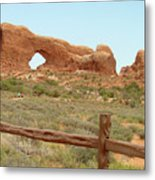 Arches Formation 35 Metal Print