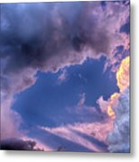 Arches In The Sky Metal Print