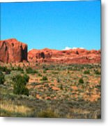 Arches National Park In Moab, Utah Metal Print