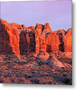 Arches National Park Pano Two Metal Print