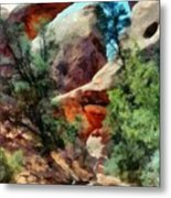 Arches National Park Trail Metal Print
