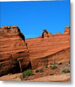 Arches National Park, Utah Usa - Delicate Arch Metal Print