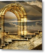 Arches Of Possibility Metal Print