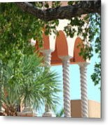 Arches Thru The Trees Metal Print