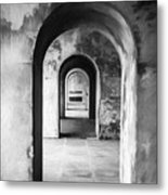 Arches Metal Print by Trevor Wintle