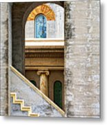 Arches Within Arches Metal Print