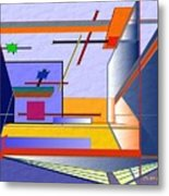 Architectural Abstract 2 Metal Print