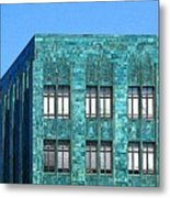 Architectural Abstract Oakland Ca Metal Print