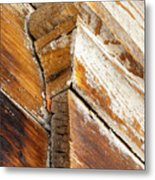 Architectural Detail At Bodie 1 Metal Print