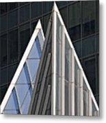 Architectural Detail Midtown Manhattan Metal Print