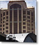 Architectural Differences Roanoke Virginia Metal Print
