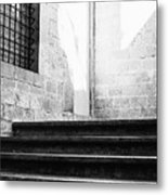 Architectural Stone Stairs Metal Print